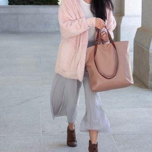 Jackets & Coats - Fluffy Pink Jacket
